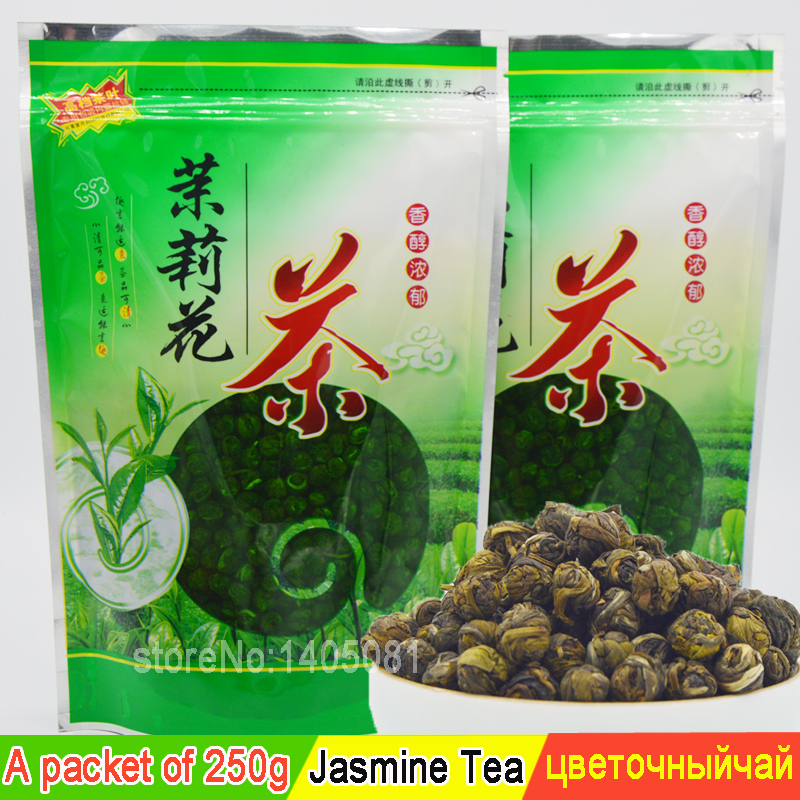 Chinese tea 250 grams of Fujian jasmine, brand name green tea diet tea free delivery(China (Mainland))