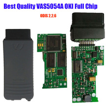 VAS5054A OKI Full chip Diagnostic Tool VAS 5054A ODIS V3.0.3 Bluetooth Support UDS Protocol with Plastic Case Multi-Language(China (Mainland))