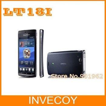 Original Sony Ericsson Xperia Arc S LT18 LT18i unlocked mobile phone Android  WIFI 3G  4.2 Screen 8MP freeship