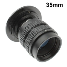 35mm 1:1.7 C-NEX Mount TV Lens with Stepping Ring(China (Mainland))