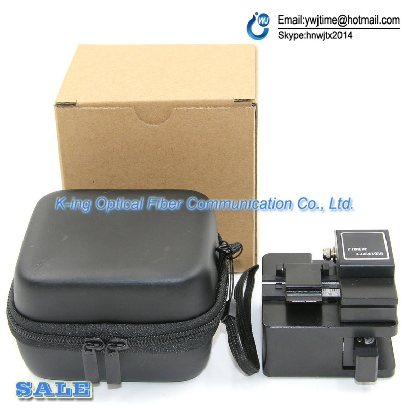 Buy GS-16 High precision fiber cleaver Optical fiber cutting knife FTTH Hot melt cold pick up tools Optical fiber cutter cheap