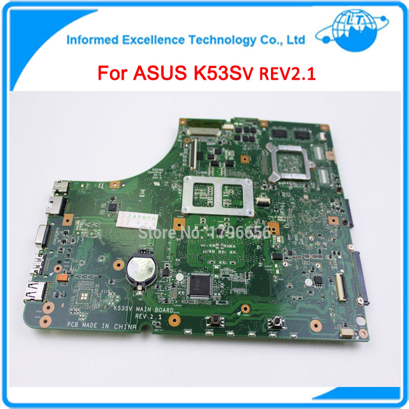 2GB 8 Memory for ASUS K53SV Motherboard for A53S X53S K53SC K53SJ P53SJ GT540M REV2.1 Mainboard Top Quality Fully Tested Mobo(China (Mainland))