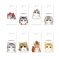Fashion Style Super Cute Cat Series Back case Cover For Samsung Galaxy S4 I9500 S6 G9200