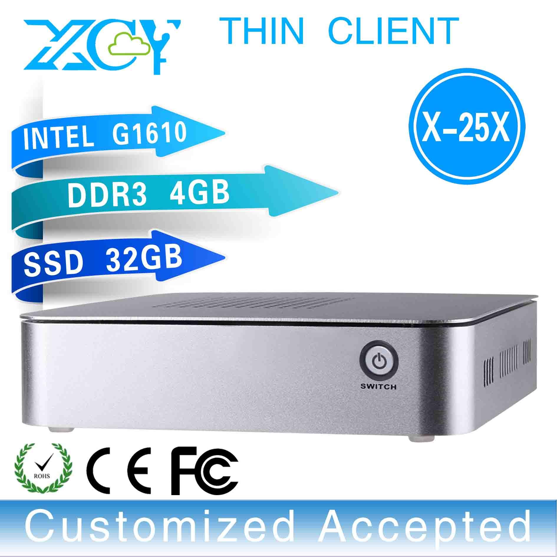 Mini Car Pc Mini Pc Windows Mini Pc Support 1080p Display And Video X-25x G1610 2.6ghz 4GB RAM 32GB SSD(China (Mainland))