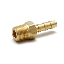 """Free Shipping 100PCS/LOT 1/4"""" Brass Fittings Lot Boat Fuel Gas Water Air Hose Barb(China (Mainland))"""