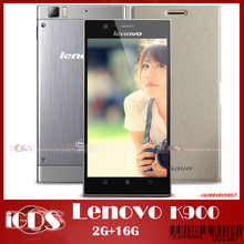 "Lenovo K900 2GB RAM 16GB ROM Intel Atom Z2580 Dual Core 2.0GHZ Android 4.2 Smartphone with 5.5"" FHD Screen cell Phone"