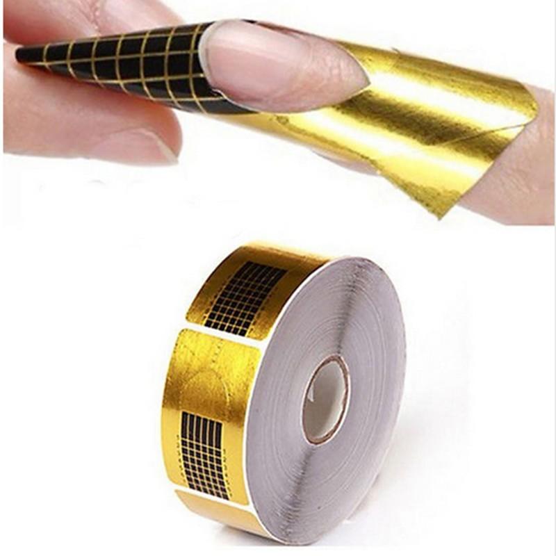Free-Shipping-500Pcs-Nails-Gel-Extension-Sticker-Nail-Art-Form-Nail-Form-Tips-Nail-Art-Guide (2)