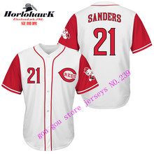 21 Deion Sanders Embroidery jerseys whith gray red white, Can be customized any name and number jerseys(China (Mainland))