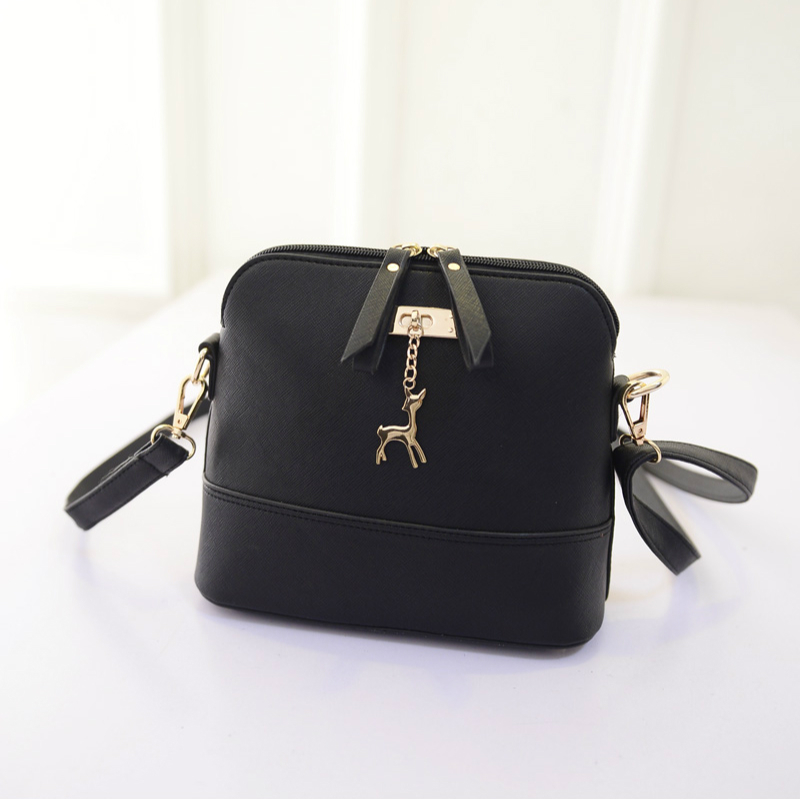 2015 spring new handbag bag retro macaron shell color matte leather shoulder bag Messenger small bag(China (Mainland))