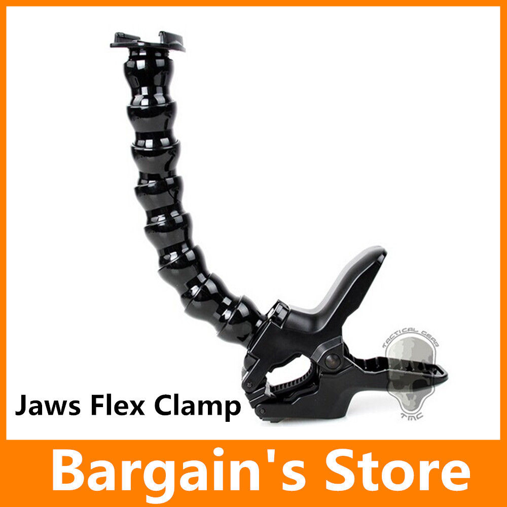 Gopro Jaws Flex Clamp Mount Fit Gopro Hero4/3+/3 SJ4000 Camera Accessories Tripods(China (Mainland))