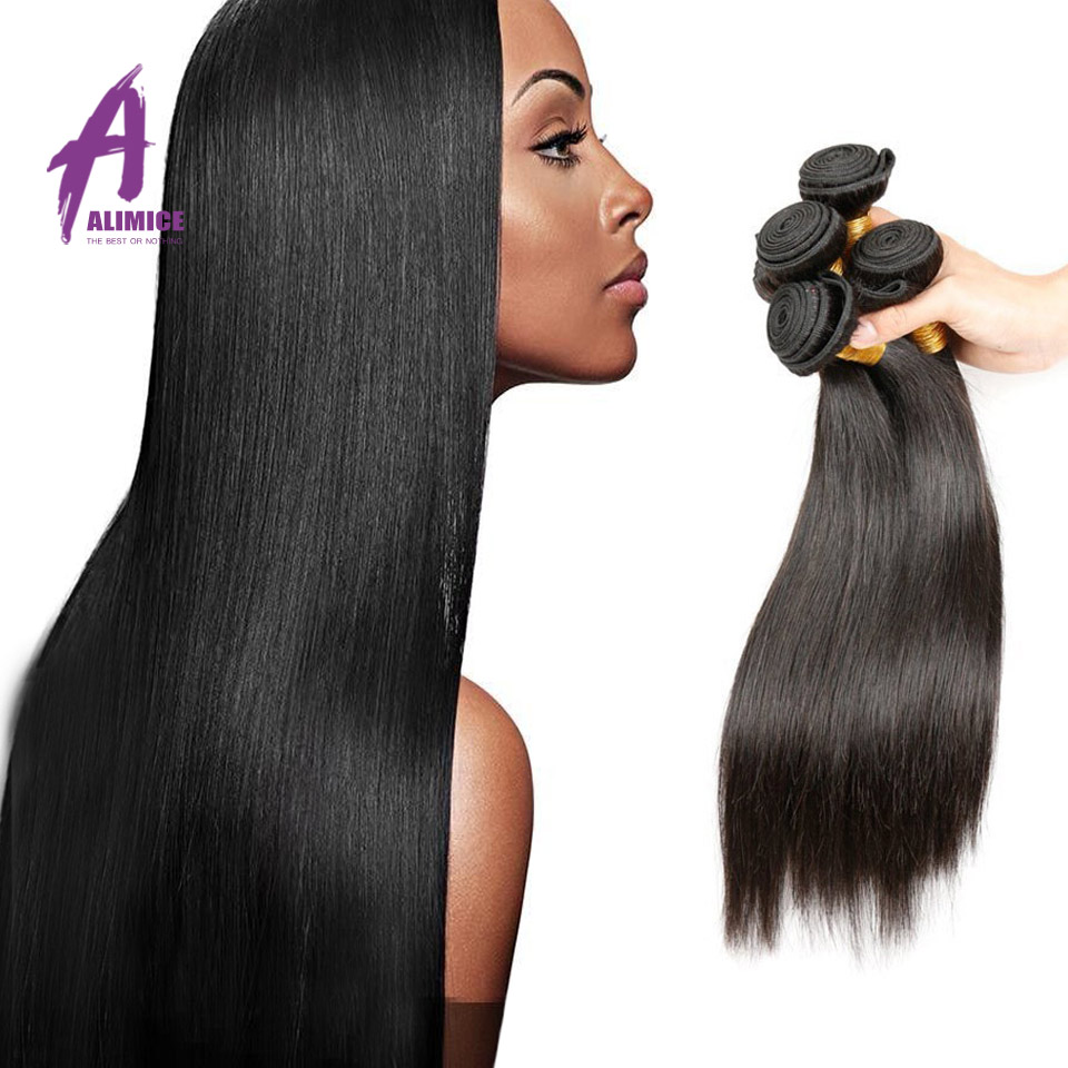 Star Style Hair Brazilian Virgin Hair Straight 4 Bundles Hot Beauty Hair 10a grade virgin unprocessed Brazilian Straight hair