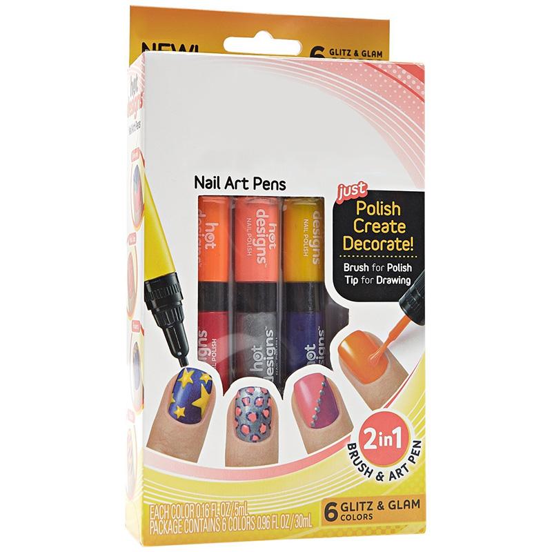 3pcs 2 in 1 Nail Pens Painting Polish Dot Drawing UV Gel Design Manicure Acrylic Paint Tools DIY Decorations #84666(China (Mainland))