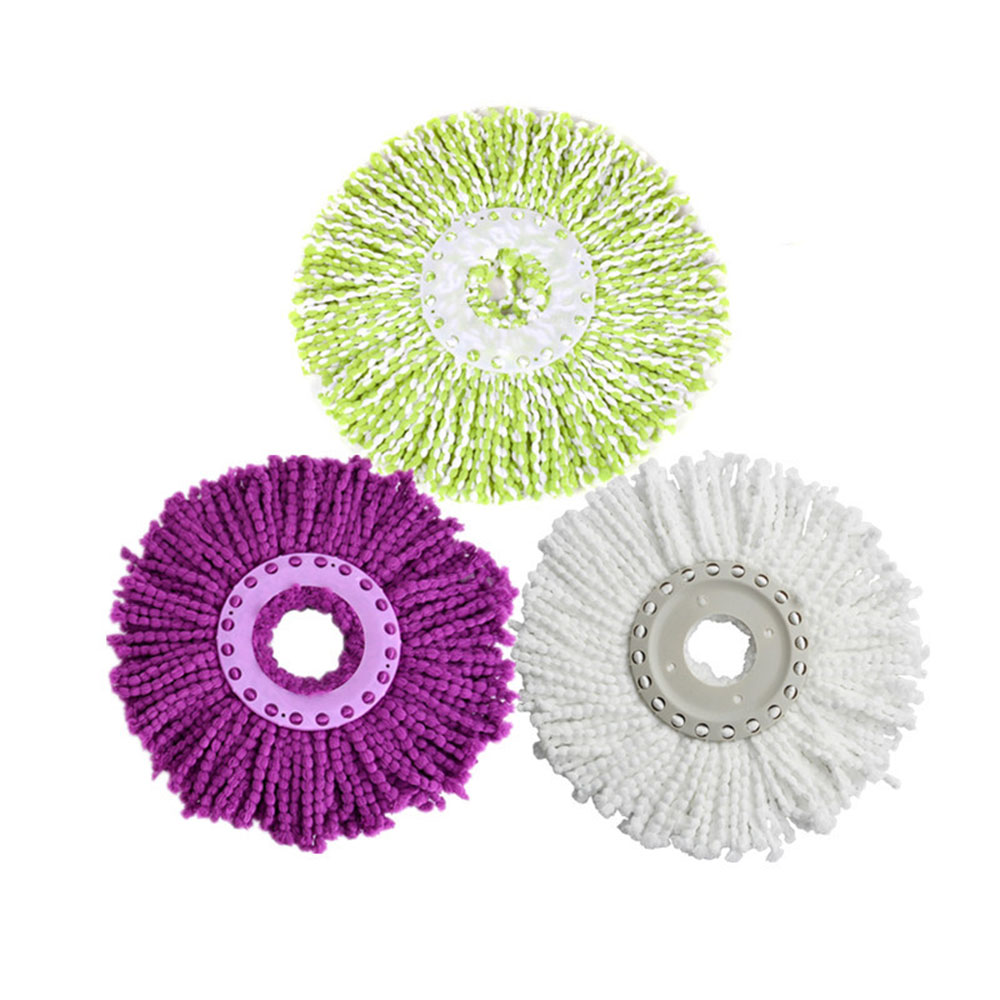 2pcs/lot Microfiber Mop Head Replace Refill Microfibre Fabric Replacement Cloth Easy Washing Magic Mops 360 Degree Spin KC1246(China (Mainland))