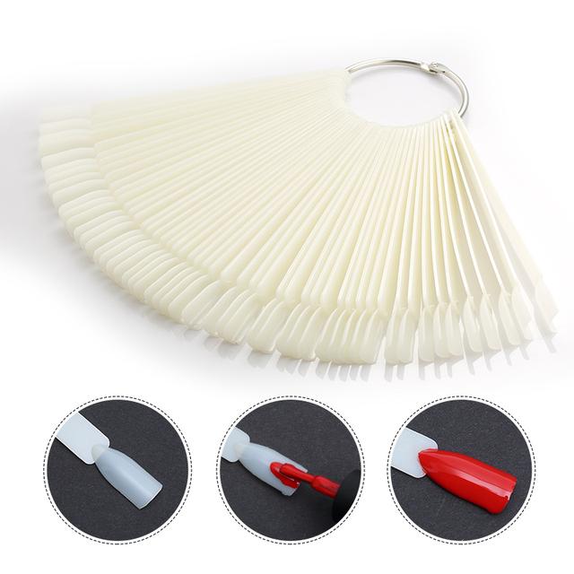 50 шт./лот Ложные Советы Nail Art Практика Совет Наклейки Nail Art Инструменты