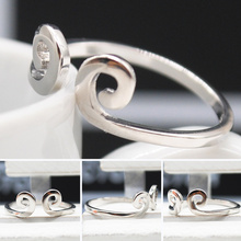 2015 Simple Style Rings Finger Ring For women men punk Fashion open rings Jewelry free shipping F60SS0188#M1(China (Mainland))