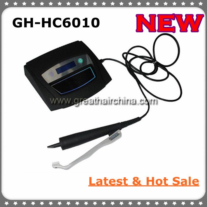 Latest Digital Ultrasonic Hair Extension Machine/ Connector GH-HC988 with All Black Handle, Free Shipping(China (Mainland))