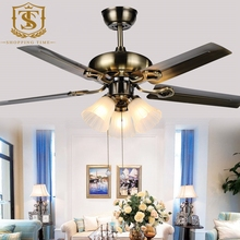 Simple Modern 42 inch Dining Room Ceiling Fan With Light  4205(China (Mainland))
