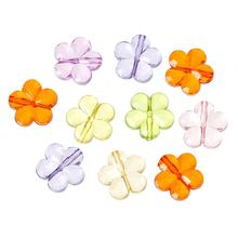 "Buy DoreenBeads Acrylic Spacer Beads Flower Mixed 15.0mm (5/8"") x 15.0mm (5/8""), Hole: Approx 1.5mm, 40 PCs 2015 new for $1.25 in AliExpress store"