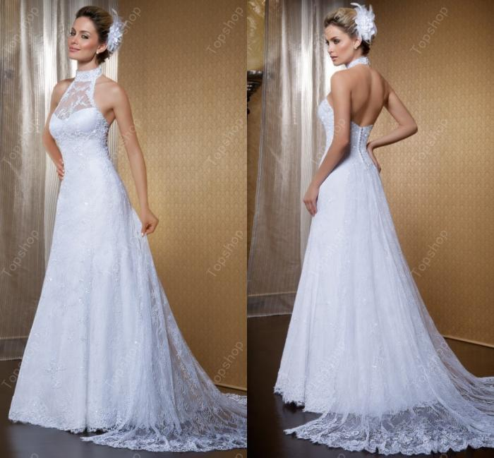 Charming look 2015 Custom Made Stunning Button Back Special Day Wedding Dress Bridal Dress Fit and flare(China (Mainland))
