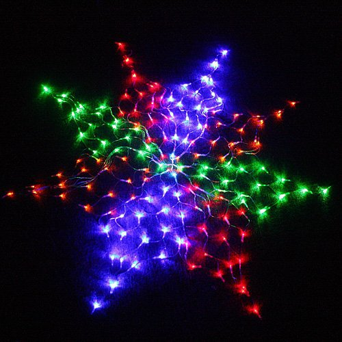 Colorful led chirstmas light 160 led wedding net lights for 160 net christmas decoration lights clear