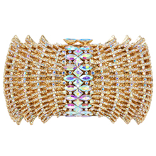 LaiSC 2016 New Luxury ladies clutch evening bags Gold crystal Clutch bags banquet bags women soiree handbag prom Bling bag SC037(China (Mainland))