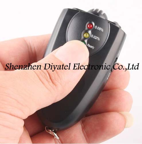 6360 LED Breath Alcohol Tester/alcohol tester/car-detector/alcohol/ best breathalyzer/alcoholmeter(China (Mainland))
