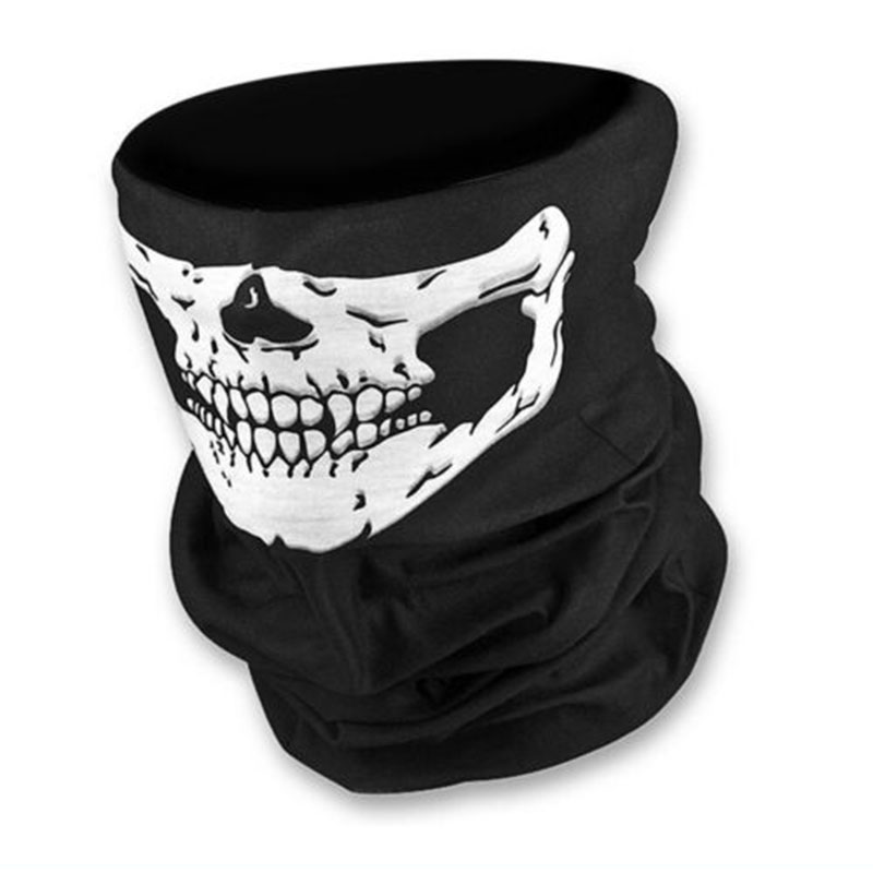 New Skull Multi Bandana Bike Motorcycle Scarf Face Mask CS Ski Headwear Neck party masks halloween mask motorcycle mask skull<br><br>Aliexpress