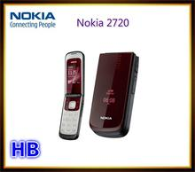 Unlocked Nokia 2720 Mobile Phone with Original Screen Bluetooth FM CellPhone Free shipping