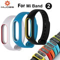 image for Teamyo Stainless Steel Metal Strap For Mi Band 2 Bracelet Replacement