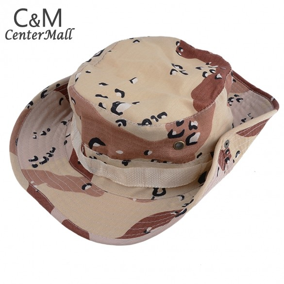 New hats for men fishing hiking boonie snap brim bucket sun hats cap