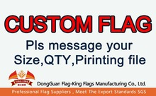 Buy CUSTOM FLAG,Can help Design, order custom flag,pls message QTY,SIZE,material,and printing file for $10.00 in AliExpress store