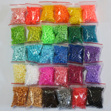 5mm hama beads 30 bags A total of 6000pcs 30 colors available 100%quality guarantee perler beads activity artkal fuse beads(China (Mainland))