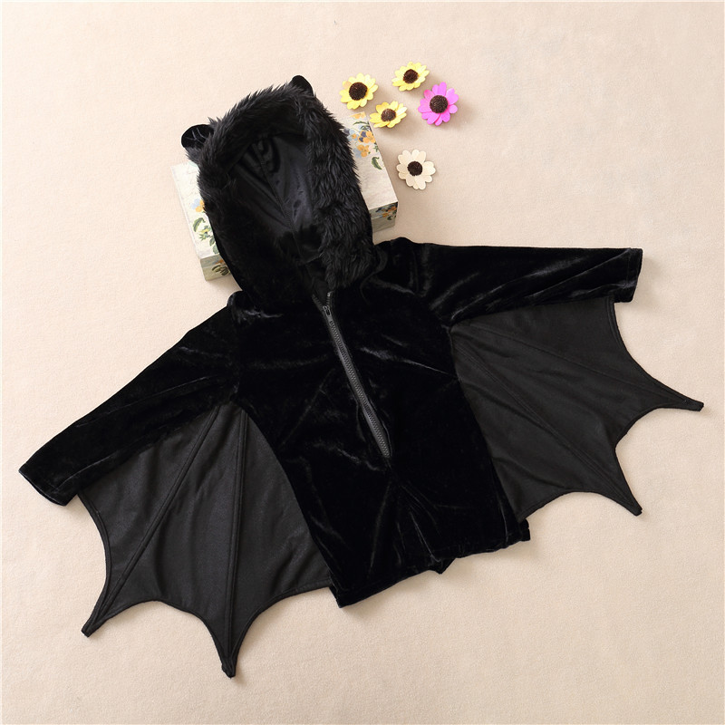 New-Child-Animal-Cosplay-Cute-Bat-Costume-Kids-Halloween-Costumes-For-Girls-Black-Zipper-Jumpsuit-Connect (5)