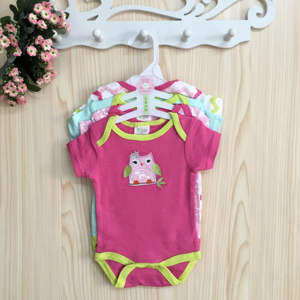 New Design Car-styling Baby Rompers Newborn Baby Girl Clothing Body Suits Bebes Carters Original Infant Baby Girls Romper U-401<br><br>Aliexpress