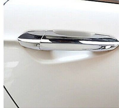 Abs Chrome Side Door Handle Cover Trim For Ford Fusion 2013 2014 In Interior Mouldings From