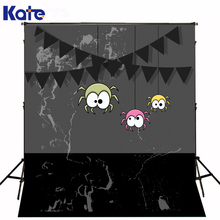 KATE Theme Happy Halloween Photography Backgrounds Spider Trick or Treat Backdrop Horrifying Ghost Photo for Studio