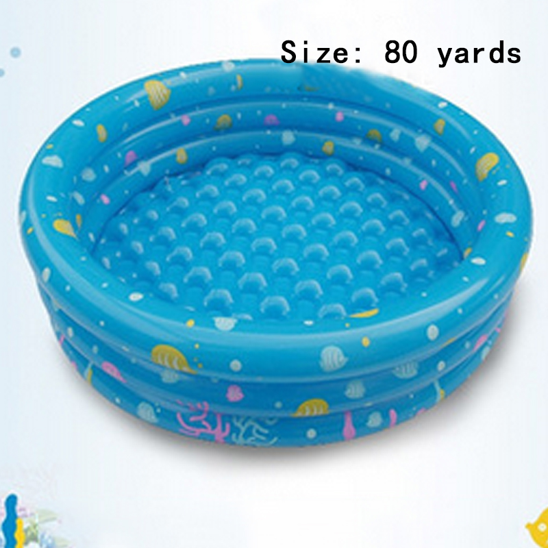 Summer Hot Products large inflatable child plastic baby swimming pool Children sandbox Cassia ocean ball pool children 80 yards(China (Mainland))