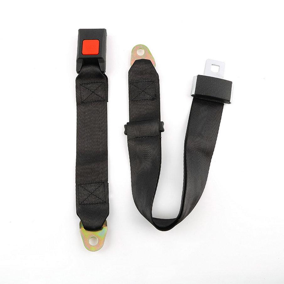 Universal Car Vehicle Seat Belt Extension Extender Strap Safety Two Point Adjustable Belt black <br><br>Aliexpress