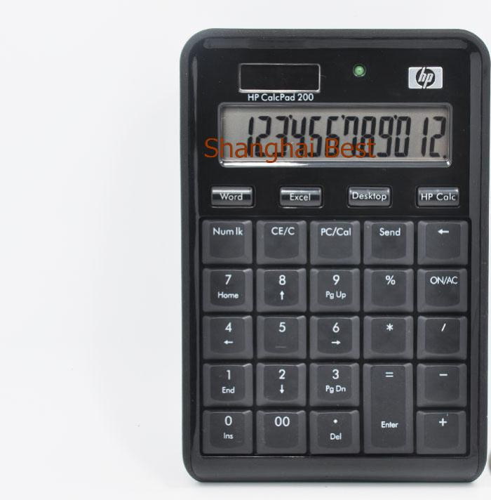 100%New Original CalcPad 200 Calculator Numeric Keypad + 2-ports USB Hub NumPad keyboard for HP DELL Lenovo LG Acer Macbook iMac(China (Mainland))