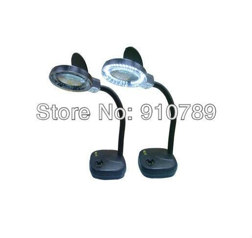 Freeshipping Dropshipping 2pcs/lot 36 LED Light Magnifier Electronic Ballast Magnifying Lamp(China (Mainland))