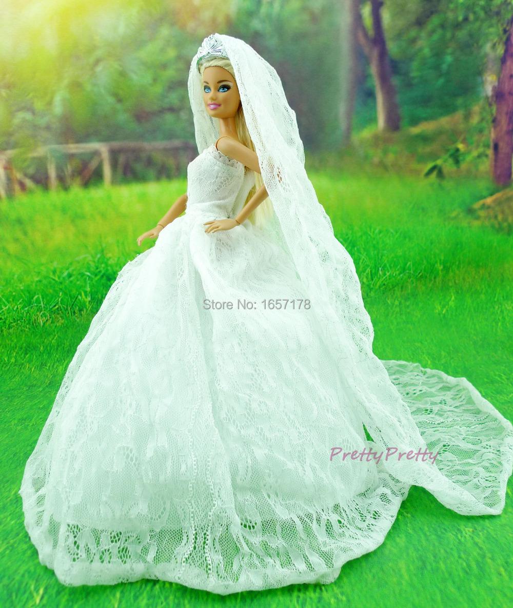 Как сшить барби платье свадебное платье 36