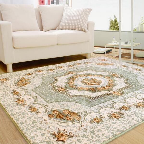 190 280cm carpet for living room large rug european Large living room rugs
