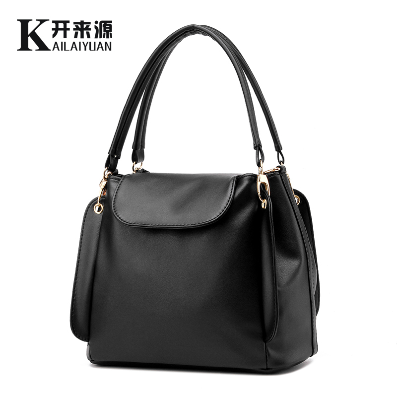 Kai 100% Genuine leather Women handbags 2016 New package female simple software package portable shoulder bag women Messenger(China (Mainland))