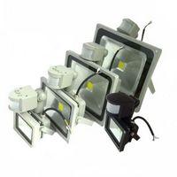 PIR Motion Sensor LED Flood light 10W 20W 30W 50W Outdoor Garden Floodlight Spot Light Lamp Cold White/Warm White AC 85-265V