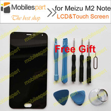 LCD Screen for Meizu M2 Note New High Quality LCD Display+Touch Screen Replacement Accessories For Meizu M2 Note Free Shipping(China (Mainland))