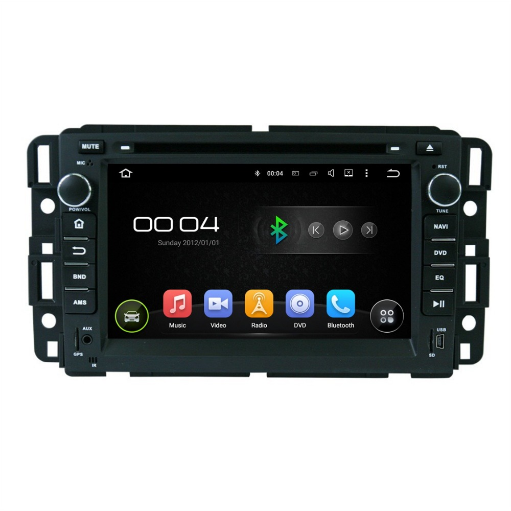 "1024*600 Quad Core 2 din 7"" Android 5.1 Car dvd player Car Radio for GMC Yukon Tahoe Savana Sierra Acadia Denali Chevrolet Chevy(China (Mainland))"
