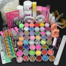 D6li 2016 Makeup Kits Hot Pro Full 36W White Cure Lamp Dryer + 12 Color UV Gel Nail Art Tools Set Kit ComesticTool for Women A12(China (Mainland))