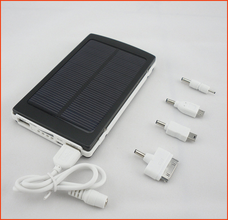 Hot Mobile Solar Charger Power Bank 50000mAh Solar PV Panel External Battery Pack for Tablet Smart Phone and Digital Products(China (Mainland))