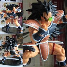 Newest Anime Dragon Ball Z Resurrection F Super Saiyan Raditz NO.21 PVC Action Figure Collectible Model Toy 14cm juguetes