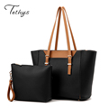 2016 Fashion women s bags brief picture package two pieces set handbag messenger bag handbags shoulder
